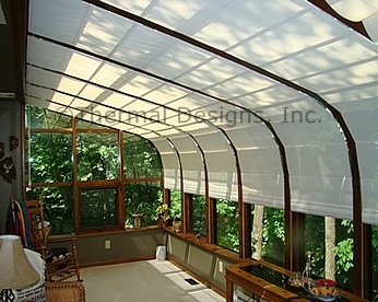 Photo Gallery Of Thermal Designs Sunroom Shading Systems