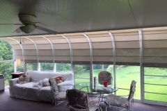 Solarium Wand shades, solar screen, Curve Only