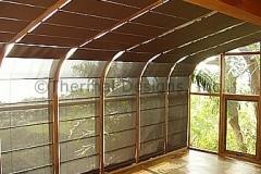 Four Seasons Solarium Motorized Screen shade