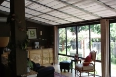 Awning fabric, Four Seasons Sunroom