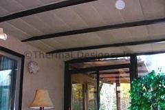 Four Seasons Sunroom patio shades
