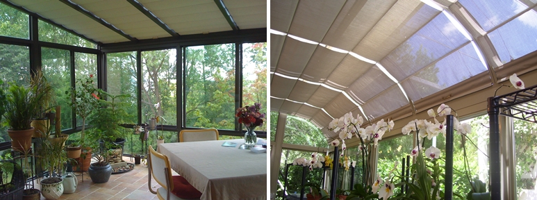Four seasons sunroom shades by thermal designs inc for 4 season sun room