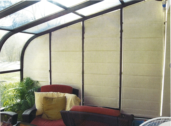 Four Seasons Sunroom Shades By Thermal Designs Inc