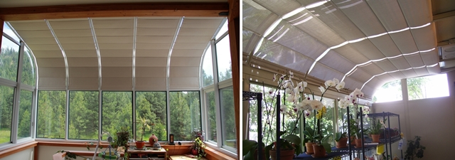 Sunroom Shades And Solarium Shades By Thermal Designs Inc